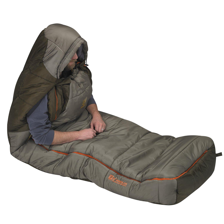 Slumberjack Borderland 0°F Long Dual-Zipper Sleeping Bag - view number 3