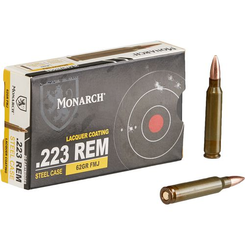 Monarch® .223 Remington 62-Grain FMJ Rifle Ammunition