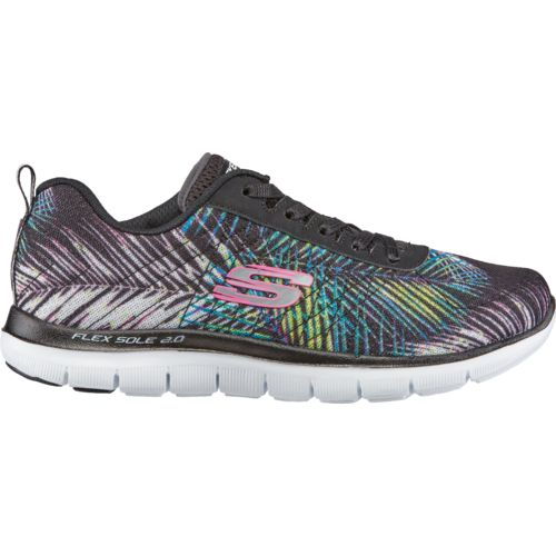 Display product reviews for SKECHERS Women's Flex Appeal 2.0 Tropical Training Shoes