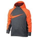 Charcoal Heather/Total Orange