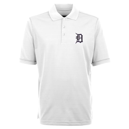 Antigua Men's Detroit Tigers Icon Piqué Polo Shirt