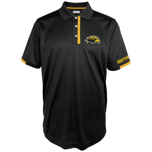 Majestic Men's University of Southern Mississippi Section 101 First Down Polo Shirt