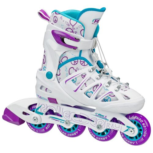 Display product reviews for Roller Derby Girls' Stinger 5.2 In-Line Skates