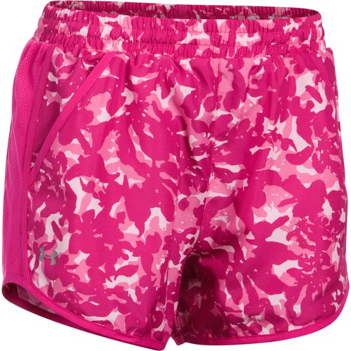 Display product reviews for Under Armour Women's Fly By Printed Run Short