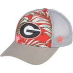 Top of the World Men's University of Georgia Ocean Front Adjustable Cap