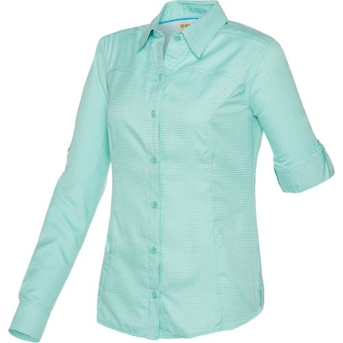 Magellan Outdoors Women's Fish Gear Aransas Pass Printed Top
