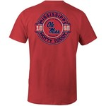 Image One Men's University of Mississippi Rounds Comfort Color T-shirt