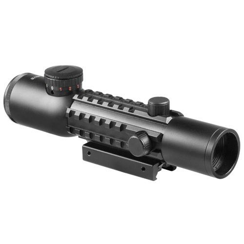 Barska Electro Sight 4 x 28 Tactical Multirail Mount Riflescope