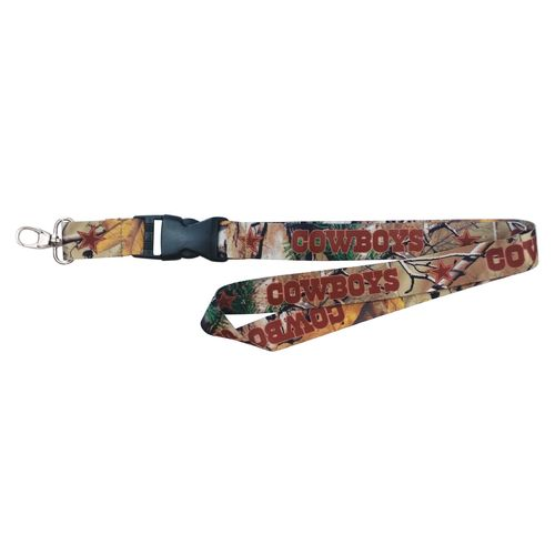 NFL Dallas Cowboys Realtree Lanyard