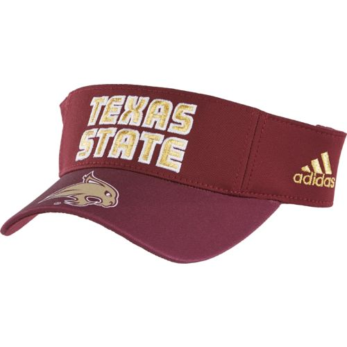 adidas™ Men's Texas State University Bonded Visor