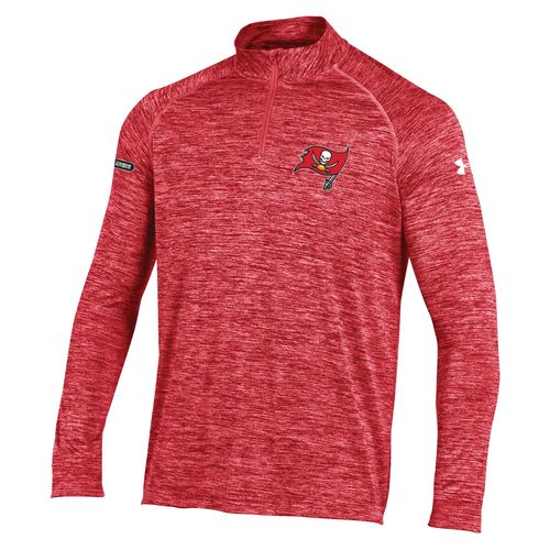 Under Armour™ NFL Combine Authentic Men's Tampa Bay Buccaneers F16 Twist Tech 1/4 Zip Pullo