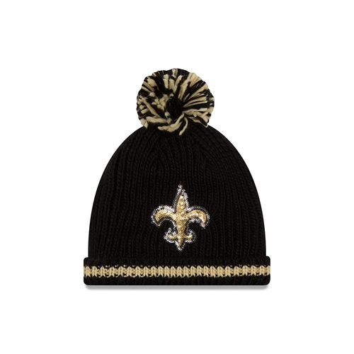 New Era Women's New Orleans Saints Sequin Frost Knit Cap