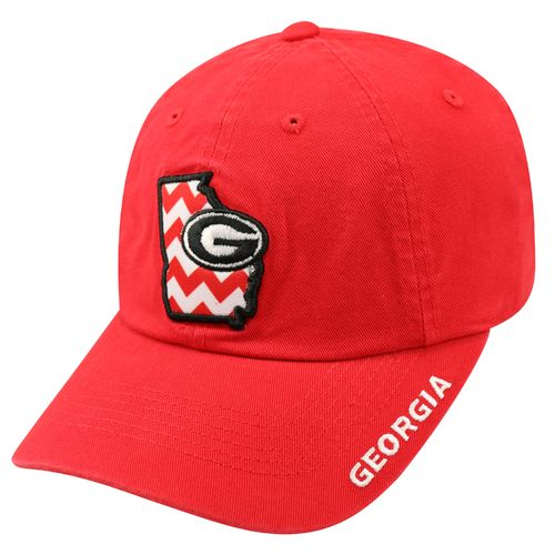 Top of the World Women's University of Georgia Chevron Crew Cap