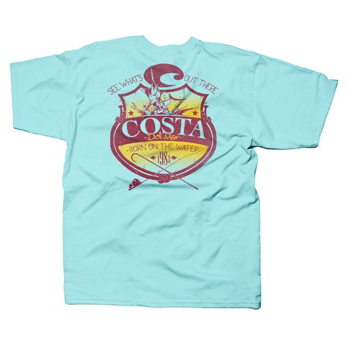 Costa Del Mar Men's Shield T-shirt