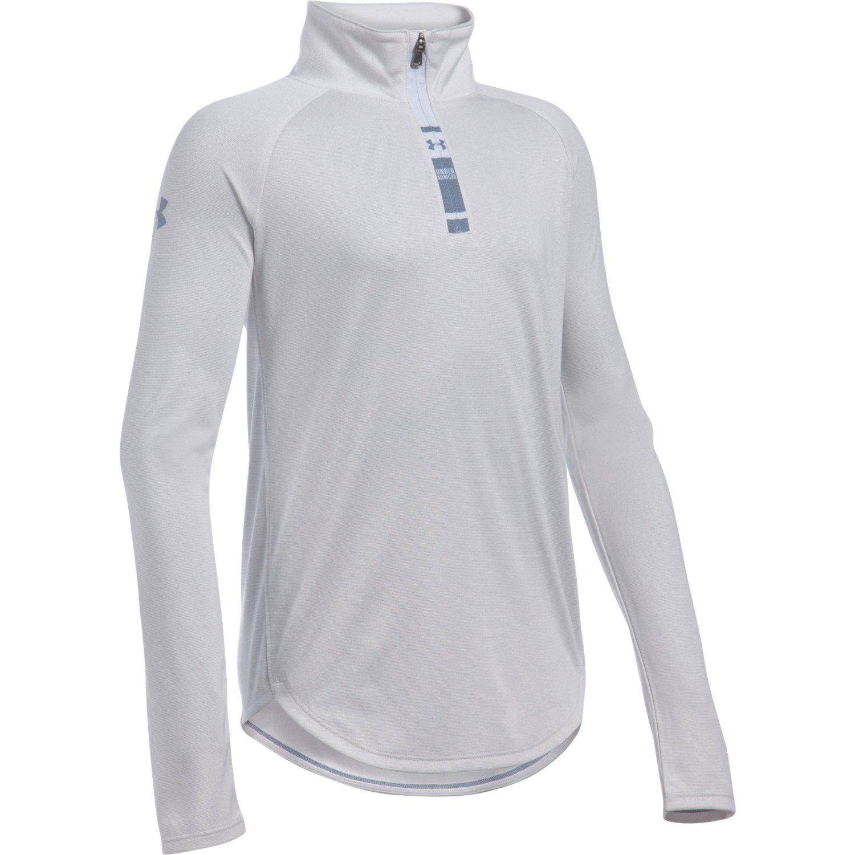 Under Armour® Girls' Tech Novelty 1/4 Zip Jacket