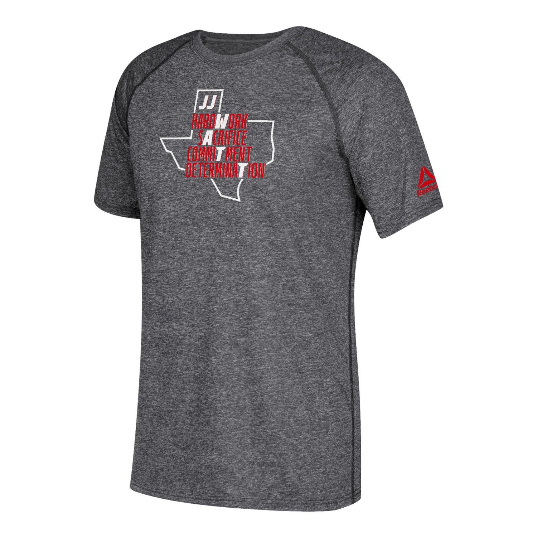 Reebok Men's Houston Texans J.J. Watt Texas T-shirt
