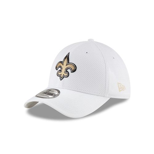 New Era Men's New Orleans Saints 39THIRTY Onfield Color Rush Cap