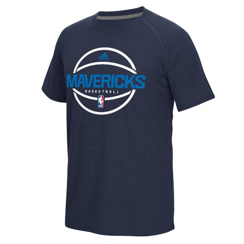 adidas™ Men's Dallas Mavericks climalite® Ultimate Short Sleeve T-shirt