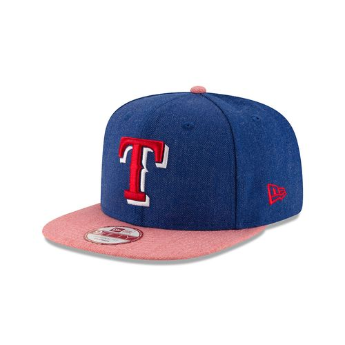 New Era Men's Texas Rangers 9FIFTY® Heather Action Snap Cap