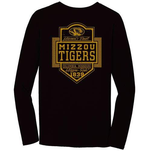 Image One Men's University of Missouri Finest Shield T-shirt