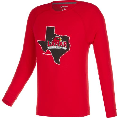 Champion™ Men's Lamar University Long Sleeve T-shirt