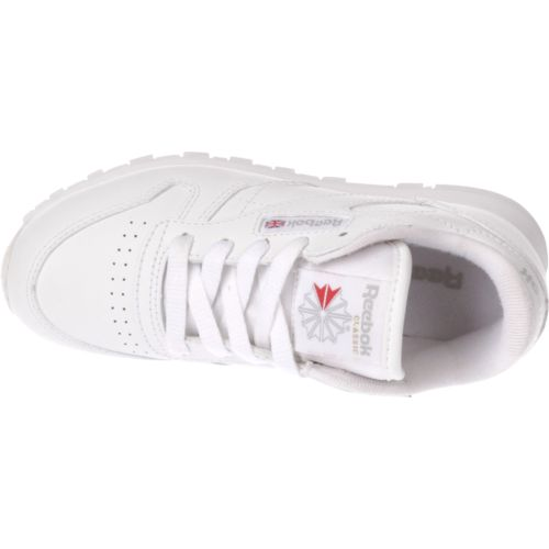 Reebok Kids' Classic Leather Running Shoes - view number 4