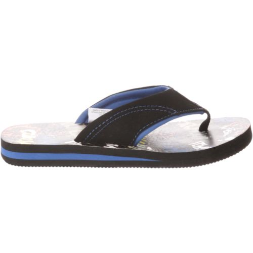 Display product reviews for O'Rageous Boys' Superhero Flip-Flops