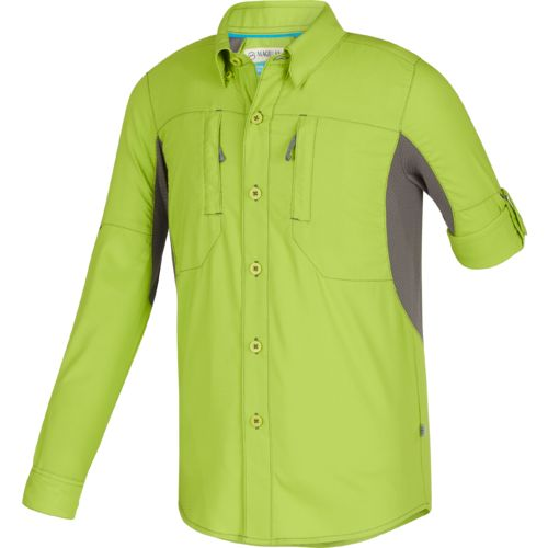 Magellan Outdoors Boys' Falcon Lake Long Sleeve Fishing Shirt