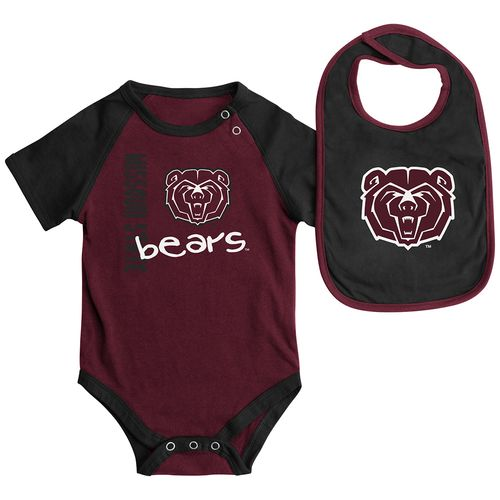 Colosseum Athletics™ Infants' Missouri State University Rookie Onesie and Bib Set