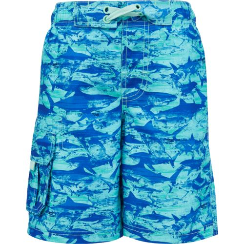 O'Rageous Boys' Hunting Shark E-boardshort