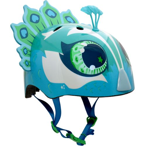 Raskullz Girls' Penelope Peacock Bicycle Helmet