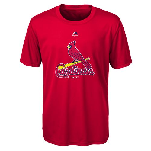 MLB Boys' St. Louis Cardinals Primary Logo T-shirt