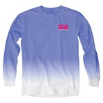 Blue 84 Women's University of Louisiana at Lafayette Ombré Long Sleeve Shirt - view number 2