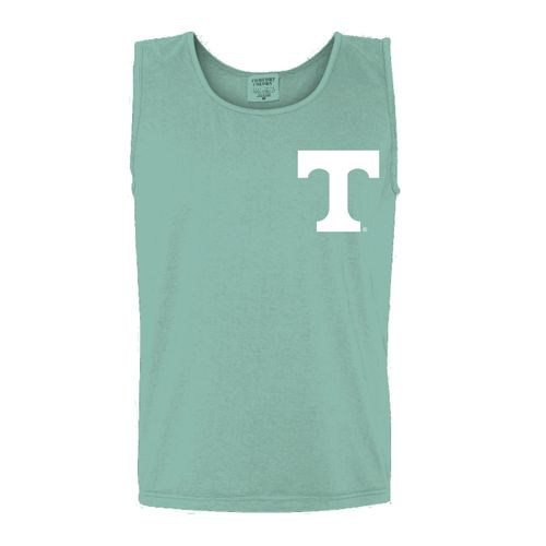 New World Graphics Women's University of Tennessee Circle Flowers Tank Top - view number 2