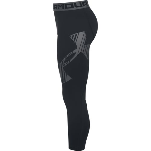 Under Armour Boys' 3/4 Logo Legging - view number 3