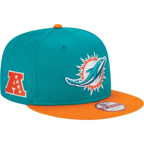 New Era Men's Miami Dolphins 9FIFTY Baycik Snapback Cap - view number 3