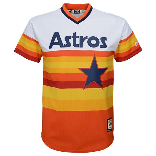 MLB Boys' Houston Astros Cooperstown Carlos Correa Cool Base Jersey - view number 2