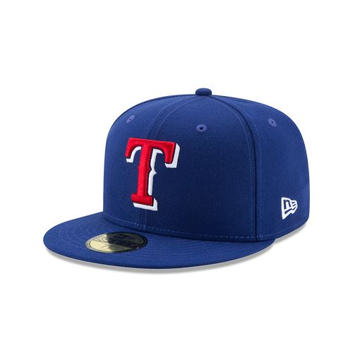 New Era Men's Texas Rangers 59FIFTY Flag Stated Redux Cap
