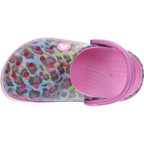 Crocs™ Girls' Crocband Animal Clogs - view number 4