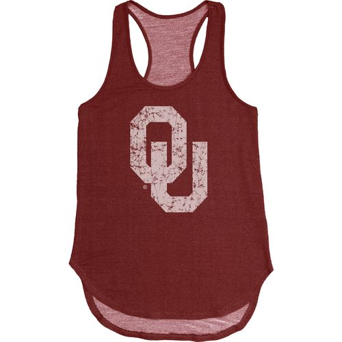 Blue 84 Women's University of Oklahoma Nala Premium Terry Tank Top