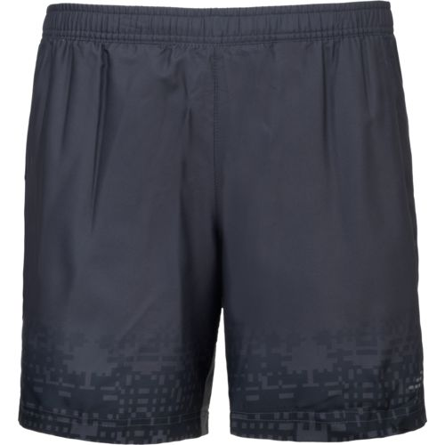 BCG Men's Embossed Printed Tennis Short