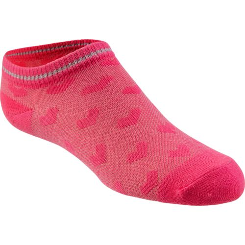 BCG Girls' Pique Knit No-Show Socks 6 Pairs