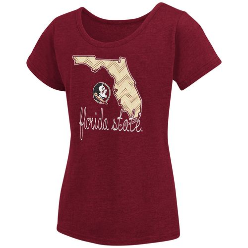 Colosseum Athletics™ Girls' Florida State University Tissue 2017 T-shirt