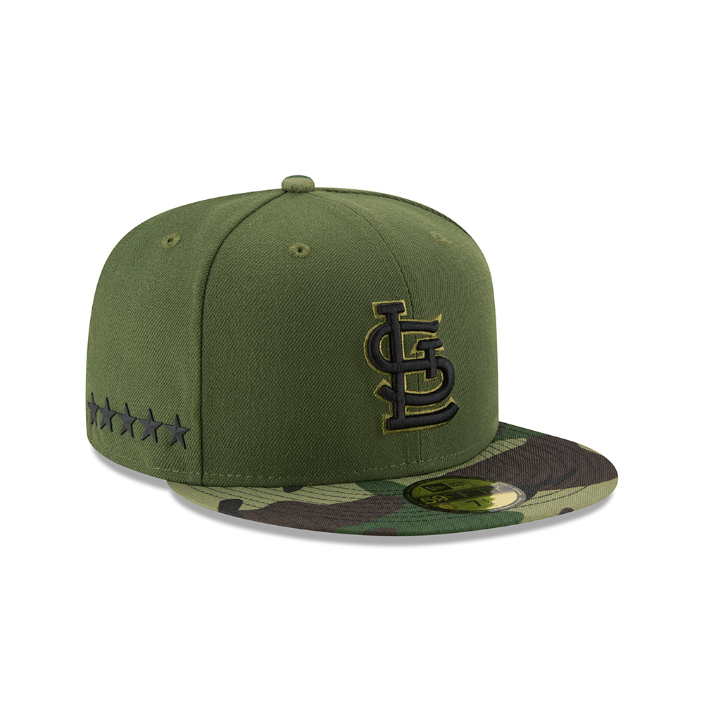 New Era Men's St. Louis Cardinals SE17 Memorial Day 59FIFTY Cap - view number 4
