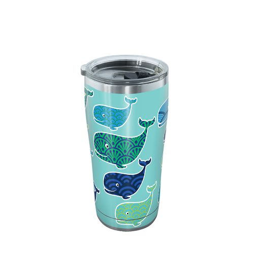 Tervis Whale Pattern 20 oz Stainless Steel Tumbler