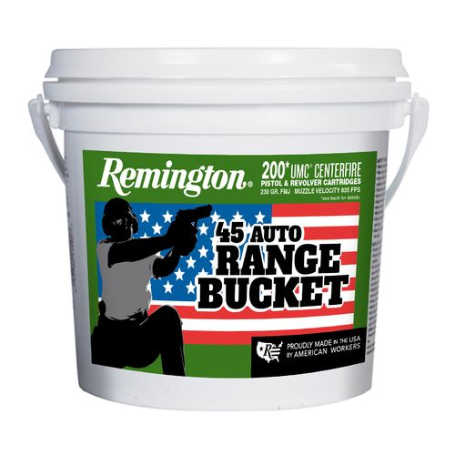 Remington UMC P&R .45 ACP 230-Grain Centerfire Ammunition Range Bucket