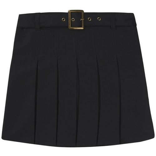 French Toast Girls' Plus Size Square Buckle Belt Pleated Scooter - view number 1