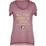 Chicka-d Women's Florida State University Scoop-Neck T-shirt - view number 1
