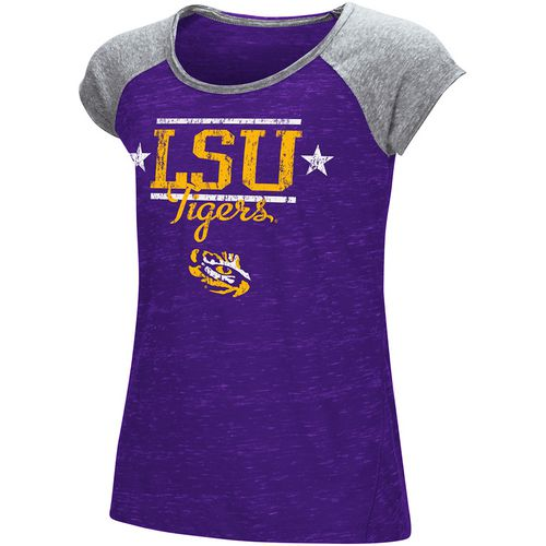 Colosseum Athletics Girls' Louisiana State University Sprints T-shirt