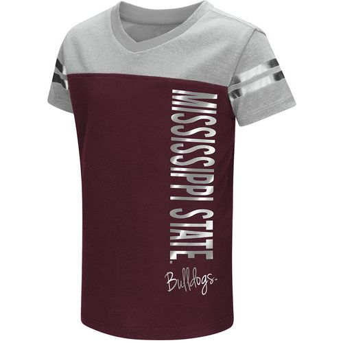 Colosseum Athletics Toddlers' Mississippi State University Cricket T-shirt